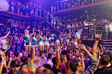 Coco Bongo Nightclub in Cancun with...