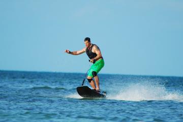 Experiência com jetsurf em Cancun