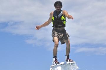 Experiência de flyboard em Cancun