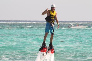 Experiência de flyboard em Playa del Carmen
