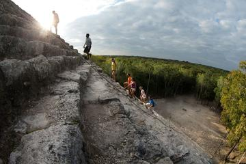 Maya-Abenteuer von Playa del Carmen aus: Coba Ruinen, traditionelles...