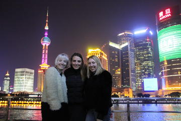 Private Shanghai City Night Tour plus Local Style BBQ Dining...