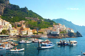 Full-Day Small-Group Pompeii and Amalfi Coast Tour from Rome