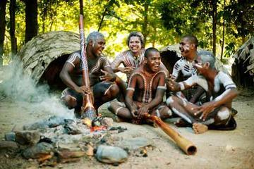 Entrada al Tjapukai Aboriginal Cultural Park