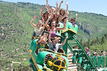 Glenwood Caverns Park, Tram and Two...