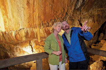 Tram and Cave Tours at Glenwood...