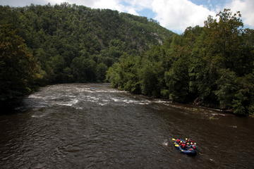 Scenic Floats on the Lower Section of the Pigeon River