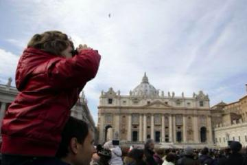 Family Tour of St. Peter's Basilica...