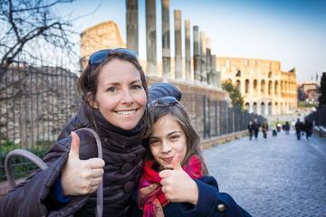 Private Familienführung: Kolosseum und Forum Romanum