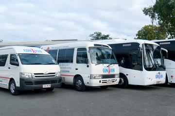 Shared Departure Transfer: Sunshine Coast to Brisbane Airport