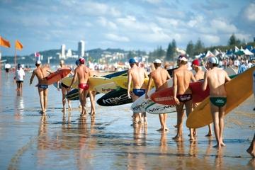 Transfer zum Abflug vom Gold Coast...