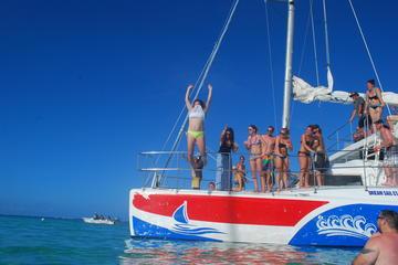 Excursión de buceo y catamarán en Punta Cana