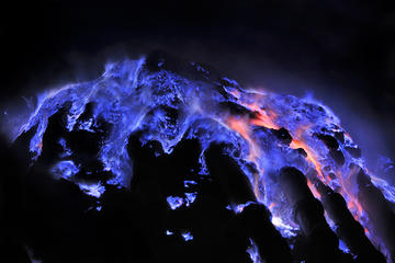 2-Days Bali and Banyuwangi Tour: Ijen Blue Fire Trekking with Baluran...