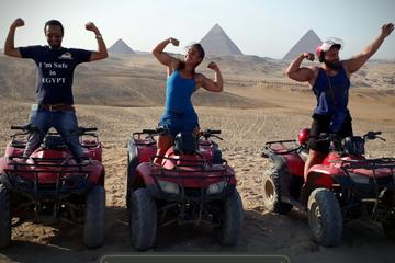 1 Hour quad bike at Giza pyramids