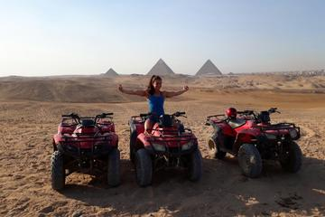 Custom tour to Giza pyramids and quad bike at the desert