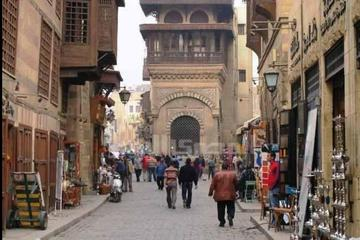 Day trip to El Moez Street, Old Mosques Al Azhar Park and Khan EL Khalili Bazaar