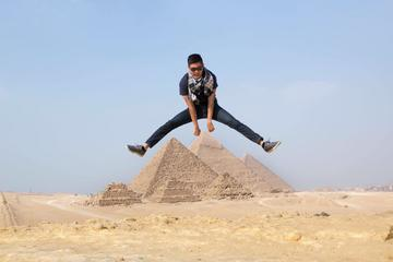 Day trip to Giza pyramids Memphis Sakkara and Felucca on the Nile