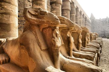 Day trip to Luxor from Cairo by plane with sightseeing lunch airport transfers