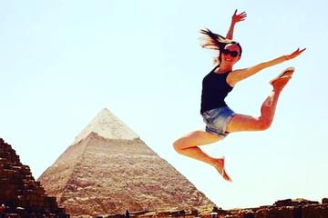 Full day trip to Giza Pyramids Memphis Sakkara and Dahsure