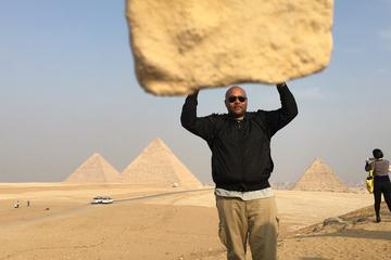 Full day trip to great pyramids Sphinx Egyptian Museum and Nile boat ride