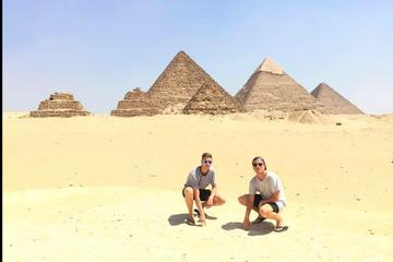 Guided trip to great pyramids Sphinx islamic and christian Cairo