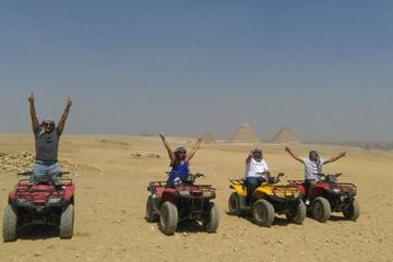 Half day tour to Giza pyramids and 1 Hour quad bike at the desert