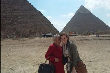 private tour to Giza pyramids Sphinx with lunch