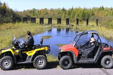 Day Trip ATV 4 Wheeler Off Road Adventures in Northwest Wisconsin near Hayward, Wisconsin