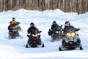 Day Trip Guided Snowmobile Excursions in Northwest Wisconsin near Hayward, Wisconsin