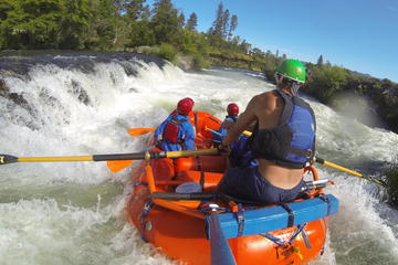 Book Nugget Falls class IV Half-Day Rafting on The Rogue River on Viator