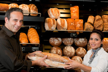 Bastidores de uma Boulangerie...