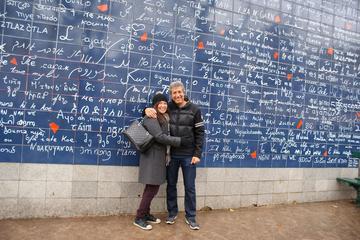 Excursão a pé romântica em Paris de...