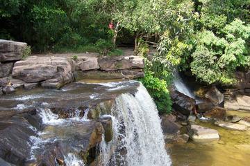 Kbal Chhay Waterfall and Sihanouk Ville City Tour