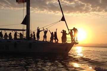 Private Sunset Sailing Cruise from Kalamata Koroni Kardamili Stoupa with Champagne and fruits