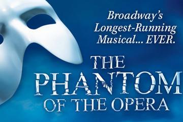 Phantom of the Opera op Broadway