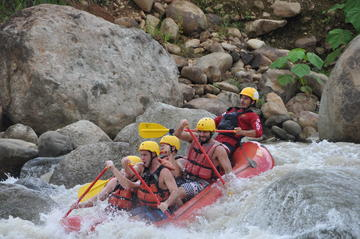 Naranjo River Rafting Trip from Manuel Antonio