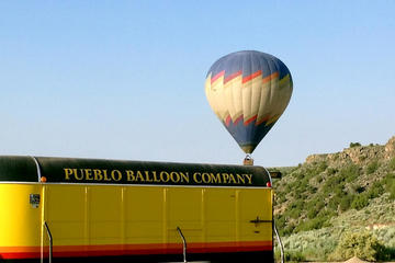 Day Trip Rio Grande Gorge Balloon Ride near Taos, New Mexico