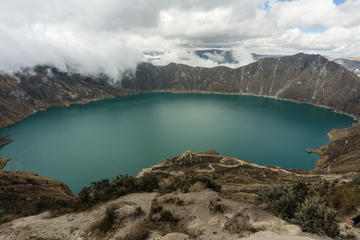 Private Full-Day Tour to Quilotoa Crater Lake