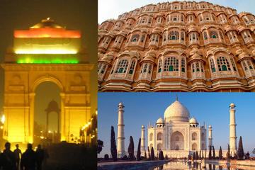 4 days Golden Triangle Tour in budget price with 3 star hotel