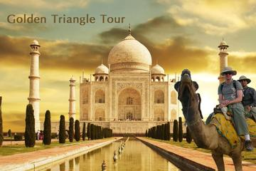 5 days Golden Triangle Tour with 3 star hotel from Delhi to Delhi