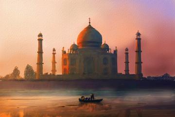 Cheapest private same day taj mahal tour by car from Delhi to Delhi