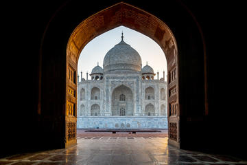 Half day Agra city Tour- Taj mahal (First wonder of the wrold)  and Agra fort