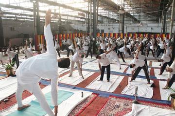 Stress Free Living Yoga Tour In Agra