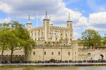 Biglietto di ingresso alla Torre di Londra, con i Gioielli della