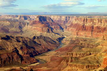 Tour mit dem Flugzeug zum Südrand des Grand Canyon