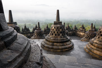 Full-Day Borobudur Prambanan and Yogyakarta City Tour