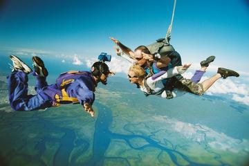 Cairns Sky Dive, Great Barrier Reef...