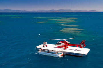 Great Barrier Reef Scenic Helicopter Flight to Moore Reef and Return...