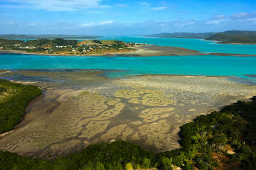 Torres Straits Island Helicopter Tour from Horn Island Including Peak Point and Punsand Bay