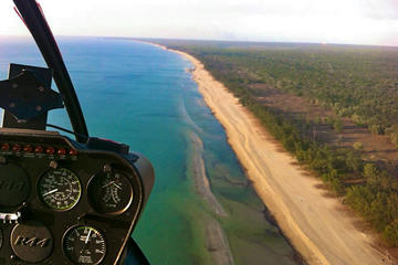 Torres Straits Western Coastline Helicopter Tour from Horn Island